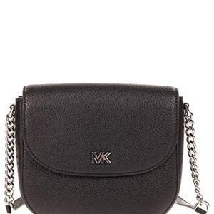 33a6ebf15a66 Michael Kors Bags - MK Mott leather dome crossbody bag